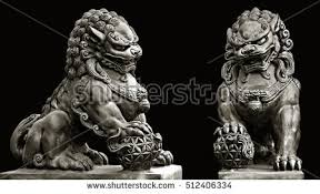 foo dog statues foo dog stock images royalty free images vectors