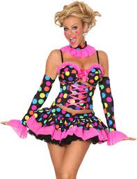 Womens Clown Halloween Costumes Clown Costumes Fall Costumes Halloween