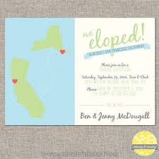 elopement invitations 20 elopement wedding announcements southbound