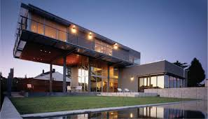 architectural homes architecture beast house colors amazing modern facade in brown