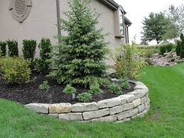 Landscaping Ideas Around Trees Pictures by Ecellent Yard Wall Ideas Landscaping By Nj Custom Pool Backyard
