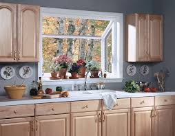 kitchen appealing kitchen bay window designs red plaid curtains