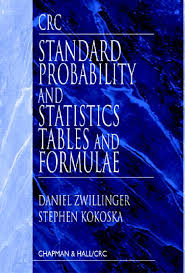 crc standard probability and statistics tables and formulae crc