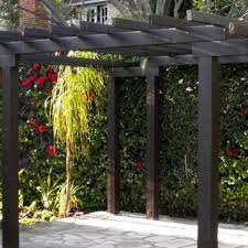English Garden Pergola by Sunken English Garden Los Angeles Landscape Design