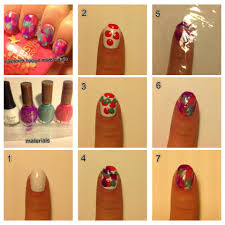in samazement ladybird nail art do it yourself easy flower nail