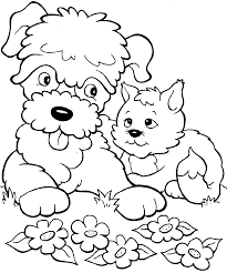 coloring pages puppies kittens 2937 670 820 coloring