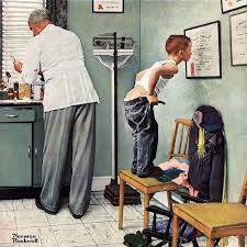 marmont hill before the by norman rockwell painting print