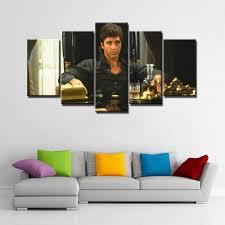 scarface home decor art abstract indoor decor 20x35cmx2 20x45cmx2 20x55cm scarface 2