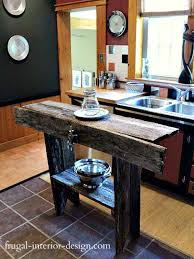 how to build a small kitchen island 32 simple rustic kitchen islands amazing diy