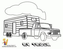coloring pages horse trailer coloring pages horse trailer copy truck page coloringcrewcom and