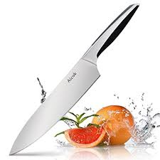 kitchen knives amazon amazon com aicok 8 inch chef kitchen knife with stainless steel