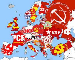 communism images map european communist parties hd wallpaper