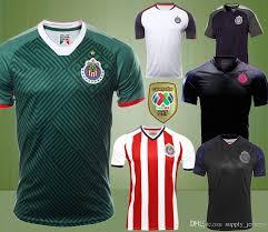 liga mx table 2017 soccer jerseys wholesaler supply jerseys sells 17 18 liga mx chivas