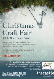 christmas fair the castle wellingborough fluxstar studios