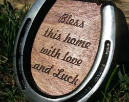 personalized horseshoes horseshoe etsy