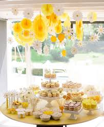 yellow baby shower ideas yellow summer baby shower ideas 2014 dessert tables