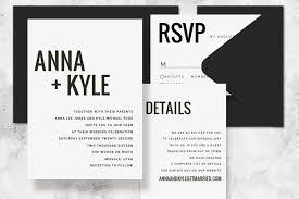 modern wedding invitation modern minimalist printable wedding invitation set wedding