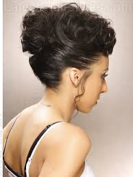 black women pin up hair do pinup style fun updo for long hair back view beautiful you