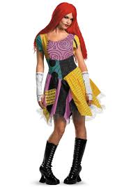 nightmare before christmas costumes sassy sally costume