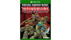 buy teenage mutant ninja turtles mutants manhattan xbox