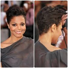 short natural edgy hairstyles janet jackson hair google search mane idea pinterest janet