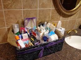 Bathroom Gift Baskets Wedding Bathroom Basket