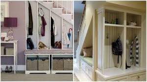 under stairs closet storage solutions small closet under staircase