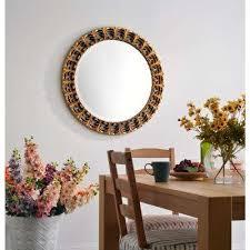 Circle Wall Mirrors Round Mirrors Wall Decor The Home Depot