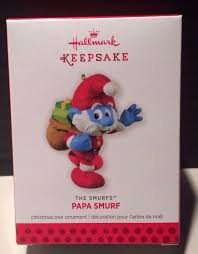 2013 hallmark keepsake ornament papa smurf the smurfs ebay