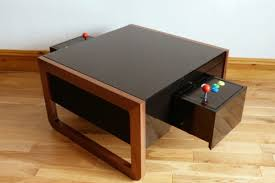 Turn A Coffee Table Into An Awesome Two Player Arcade Cabinet by Retro Gaming Inspired Modern Furniture U0026 Accessories