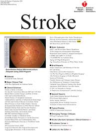 retinal microvascular changes and risk of stroke stroke