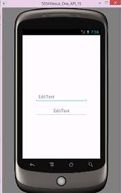 android center text center the hint text within an edittext in android android exles