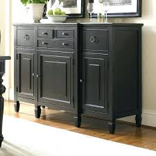 Kitchen Sideboard Cabinet Wood Buffet Rustic Wood Furniture Black Kitchen Buffet