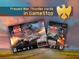 prepaid cards for shop prepaid war thunder cards in gamestop usa news war thunder