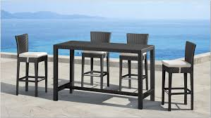 Bar Height Dining Room Table Bar Height Outdoor Dining Table Set Home And Furniture