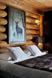 chambre à coucher décoration chambre à coucher chambre coucher chalet deco décoration chambre