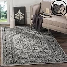 Lodge Style Area Rugs Safavieh Adirondack Collection Adr108a Silver And Black