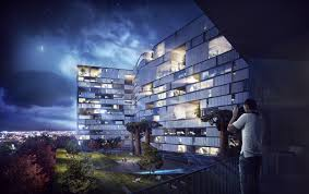 Architecture Visualization by 3d Visualization U2013 Hotel Nature Architectural Visualization