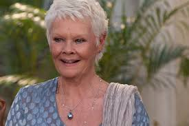 judi dench hairstyle front and back of head judi dench pashmina expert vanity fair
