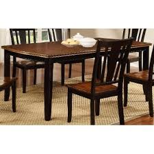 Cherry Dining Room Black And Cherry Dining Table Dover Collection Rc Willey