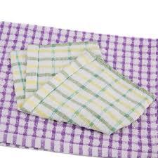 Waffle Weave Kitchen Towels Amazon Com Bamsod Lattice Cotton Dish Towel Kitchen Washcloths