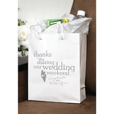 wedding hotel bags hotel gift bag ideas an affair to remember
