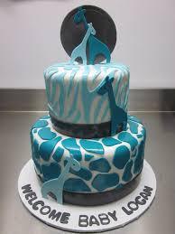 giraffe print cake