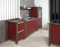 Red Cabinets Kitchen by Red Cabinets For Free Standing Kitchen Best Designs Decor Crave