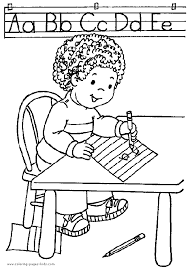 color page coloring pages for kids educational coloring