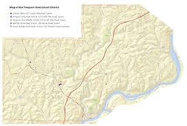 Pennsylvania Area Code Map by Fasd