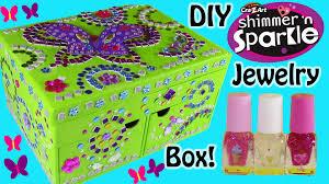 cra z art shimmer n u0027 sparkle diy mosaic jewelry box surprise lip