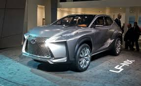 lexus suv inside lexus lf nx concept photos and info u2013 news u2013 car and driver