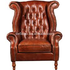 Leather Wingback Chair Leather Wing Chair Leather Wing Chair Suppliers And Manufacturers