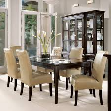 dining table with leather chairs with ideas hd gallery 54002 zenboa